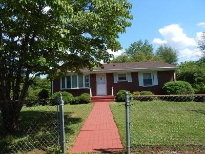 Roanoke VA Single Family Home For Sale: $99,000