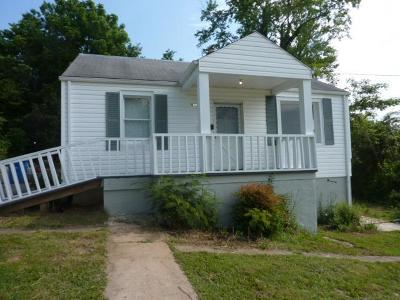 Roanoke VA Single Family Home For Sale: $49,950