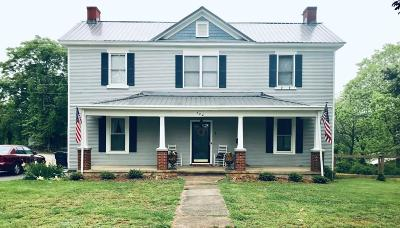 Bedford Single Family Home For Sale: 724 Burks Hill Rd