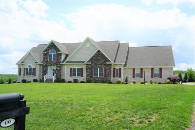 Bedford County Single Family Home For Sale: 102 Peakland Ct