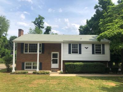 Roanoke Single Family Home For Sale: 5335 Cave Spring Ln