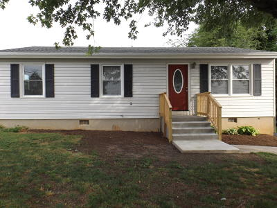 Vinton Single Family Home For Sale: 503 Vale Ave