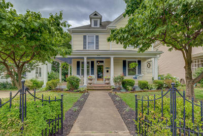 Roanoke City County Single Family Home For Sale: 424 Highland Ave SW
