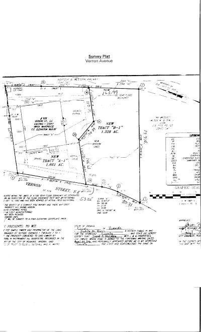 Roanoke City County Residential Lots & Land For Sale: Vernon St SE