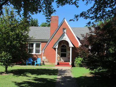 Roanoke City County Single Family Home For Sale: 3534 Courtland Rd NW