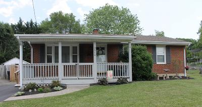 Roanoke Single Family Home For Sale: 3516 Ventnor Rd SE