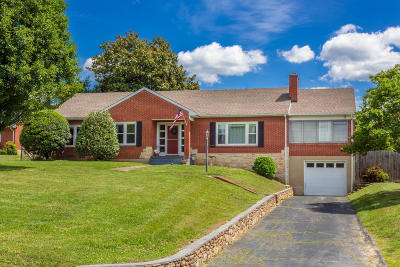 Roanoke County Single Family Home For Sale: 8435 Belle Haven Rd