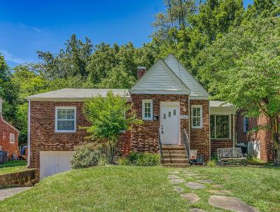 Roanoke Single Family Home For Sale: 1525 Brandon Ave SW