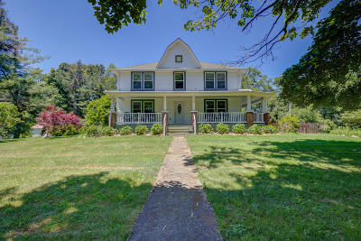 Roanoke County Single Family Home For Sale: 11091 Bent Mountain Rd