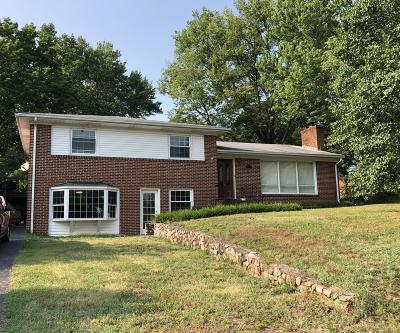 Roanoke County Single Family Home For Sale: 3274 Rasmont Rd