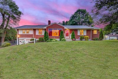 Roanoke County Single Family Home For Sale: 6924 Brookview Rd
