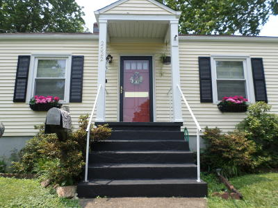 Roanoke Single Family Home For Sale: 2522 Westover Ave SW