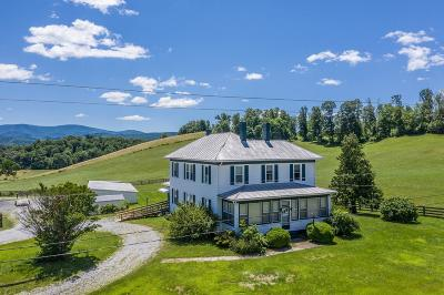 Botetourt County, Roanoke County Farm For Sale: 25586 Lee Highway