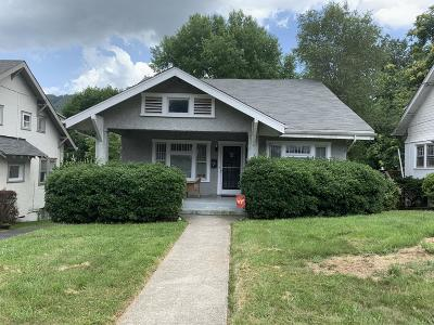Roanoke City County Single Family Home For Sale: 2214 Wycliffe Ave SW