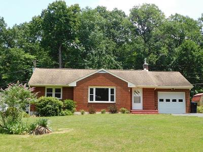 Vinton Single Family Home For Sale: 2707 Parkview Dr