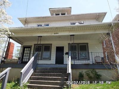 Roanoke City County Single Family Home For Sale: 1310 9th St SE