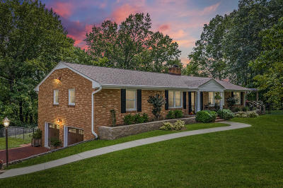 Roanoke County Single Family Home For Sale: 5957 Roselawn Rd