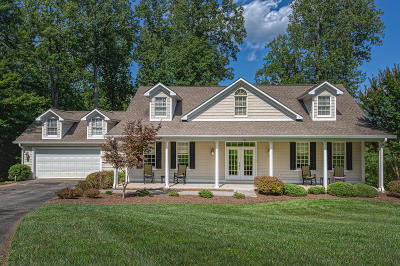 Single Family Home For Sale: 155 Mountain Shore Dr