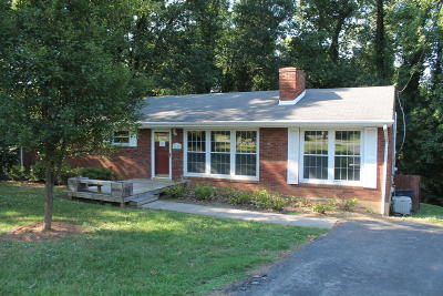 Roanoke City County Single Family Home For Sale: 1619 Sigmon Rd NW