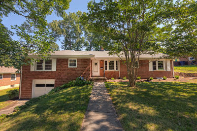 Roanoke City County Single Family Home For Sale: 1711 Wilbur Rd SW