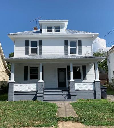 Roanoke City County Single Family Home For Sale: 649 Murray Ave SE