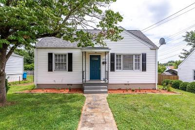 Roanoke City County Single Family Home For Sale: 2707 Cornell Dr NW