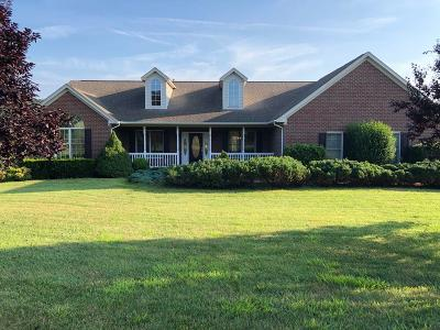 Botetourt County Single Family Home Sold: 2100 Brughs Mill Rd