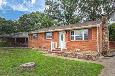 Roanoke City County Single Family Home For Sale: 121 Cherryhill Cir NW
