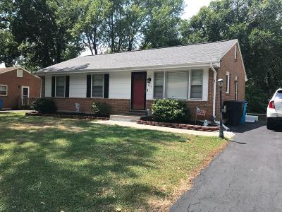 Roanoke County Single Family Home For Sale: 1113 Trevino Dr NE