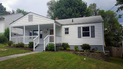Roanoke VA Single Family Home For Sale: $93,000