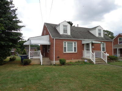 Roanoke VA Single Family Home For Sale: $115,500