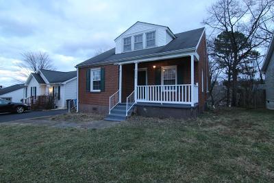 Roanoke Single Family Home For Sale: 3426 Garden City Blvd SE
