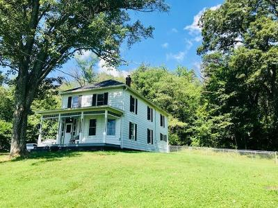 Botetourt County Single Family Home For Sale: 52 Wood Town Rd
