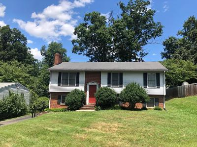 Roanoke County Single Family Home For Sale: 5543 Heather Hill Dr