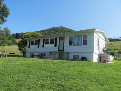 Roanoke County Single Family Home For Sale: 6853 Miller Cove Rd