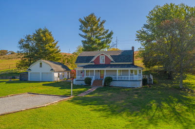 Single Family Home For Sale: 4405 Blacksburg Rd