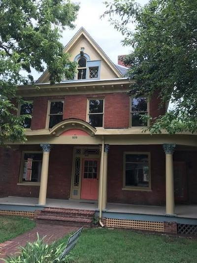 Roanoke Single Family Home For Sale: 809 Day Ave SW