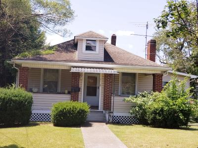 Roanoke City County Single Family Home For Sale: 1660 Rugby Blvd NW