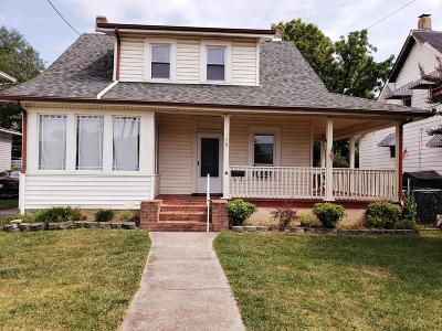 Roanoke City County Single Family Home For Sale: 1407 Orange Ave NW