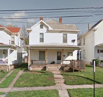 Roanoke City County Single Family Home For Sale: 648 Highland Ave SE
