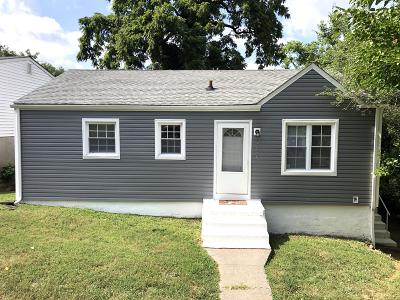 Roanoke City County Single Family Home For Sale: 3830 Vermont Ave NW