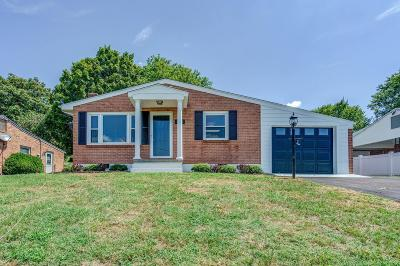 Roanoke County Single Family Home For Sale: 6345 Nell Dr