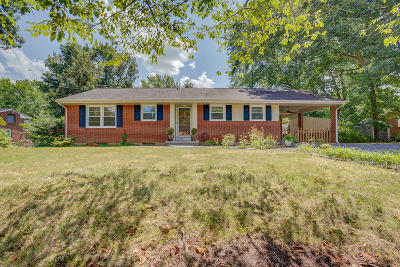 Roanoke County Single Family Home For Sale: 5462 Warwood Dr
