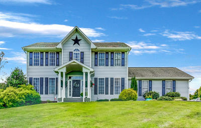 Botetourt County Single Family Home For Sale: 1861 Country Club Rd