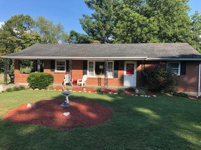 Roanoke County Single Family Home For Sale: 3454 View Ave