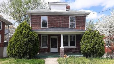 Roanoke VA Single Family Home Pending: $100,000