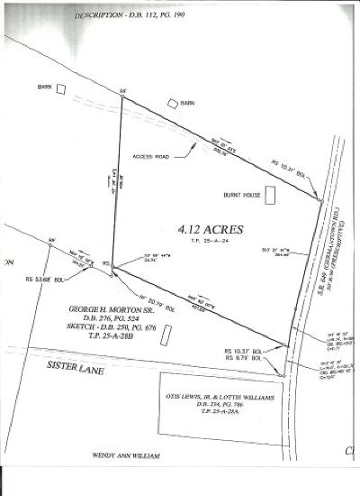 Charlotte County Residential Lots & Land For Sale: Germantown Rd.