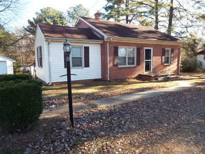 Halifax County Single Family Home For Sale: 1086 Chatham Rd.