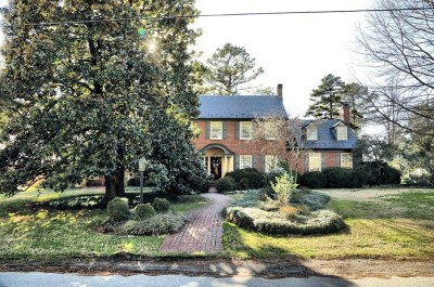 Mecklenburg County Single Family Home For Sale: 826 Robertson St.