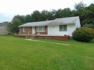 Halifax County Single Family Home For Sale: 1124 Newton Farm Rd